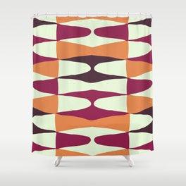 Zaha Vintage Shower Curtain