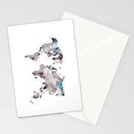 world map 73 Stationery Cards