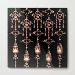 CASTELLINA JEWELS: AWESOME ROSE GOLD Metal Print