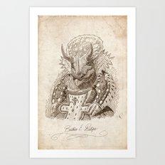 Béatrice E. Ratops Art Print