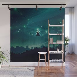 Wireless Camping Wall Mural