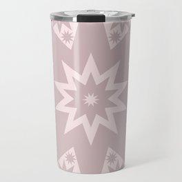 Rose Pink Star Travel Mug