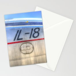 Ilyushin IL-18 Stationery Cards