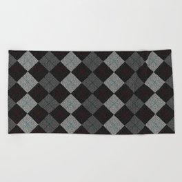 Golf Grey Beach Towel