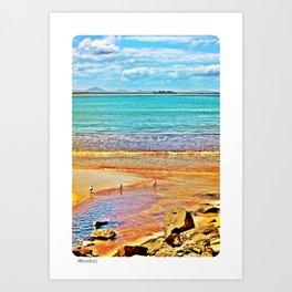Elizabeth Beach Art Print