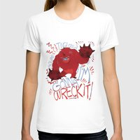 wreck it ralph T-shirts featuring Wreck-it Ralph (Scraped appearance) by Camille Dion-Bolduc