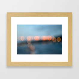 You put a thought  Framed Art Print