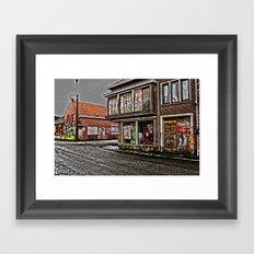 Ghost town Doel in Belgium  Framed Art Print