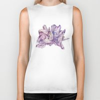 crystals Biker Tanks featuring Crystals by my first palette