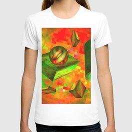 Flying tiles ... T-shirt
