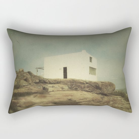 Once Upon a Time a Lonely House Rectangular Pillow