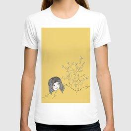 blanket girl.  T-shirt