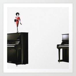 Barbyz x Pianoz II Art Print