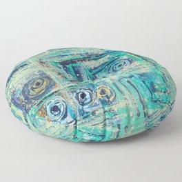 The Labirinth Floor Pillow