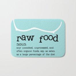 Raw Food Bath Mat