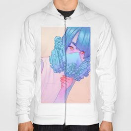 Untitled mask drawing Hoody