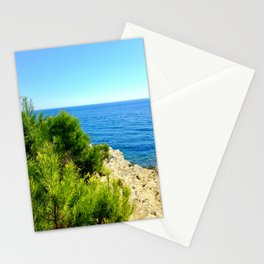 Cap Ferrat Seaside Stationery Cards