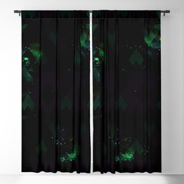 SPACE FIELD Blackout Curtain