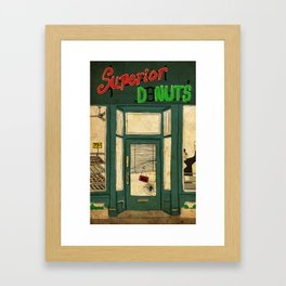 Superior Donuts Framed Art Print