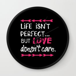 Life isnt perfect…. Wall Clock