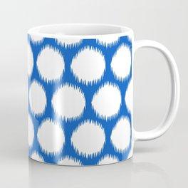 Sapphire Asian Moods Ikat Dots Coffee Mug