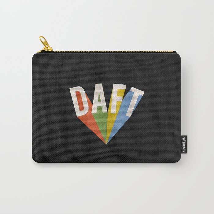Letters : Daft II Carry-All Pouch