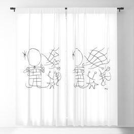 Joan Miro, The Smile Of The Flamboyant Wings 1953 Sketch Artwork, Tshirts, Posters, Prints, Men, Wom Blackout Curtain