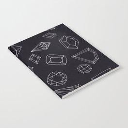 doodle crystals Notebook