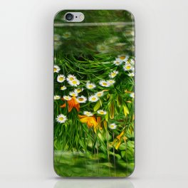 Upside Down Daisies iPhone Skin