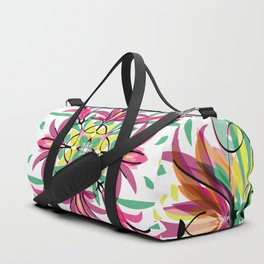 Abstract Garden 2 Duffle Bag