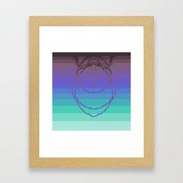 Psychedelica Chroma XXV Framed Art Print