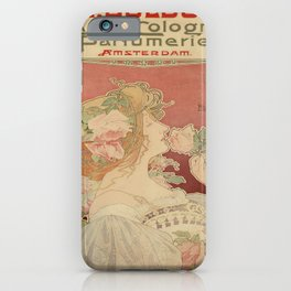 Vintage poster - Parfumerie iPhone Case