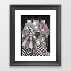 Alice's After Tea Concert Framed Art Print