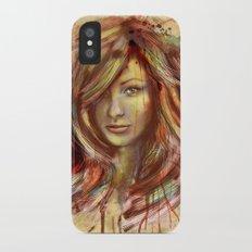 Olivia Wilde Digital Painting Portrait Slim Case iPhone X
