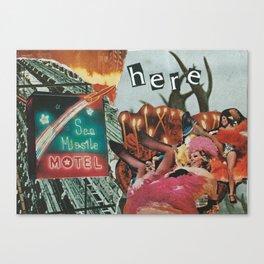 Sea Missile Motel Canvas Print