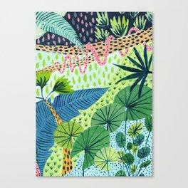 Topical Jungles Canvas Print