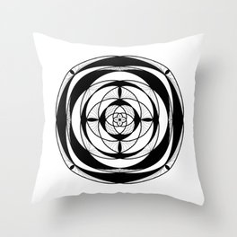 Mandala 0008 Throw Pillow
