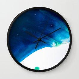 Admiral Blue #2 Wall Clock