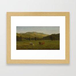 Pemigewasset River, N.H., Albert Bierstadt Framed Art Print