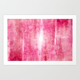 Primitive Composition (Abstract Allegory) Art Print