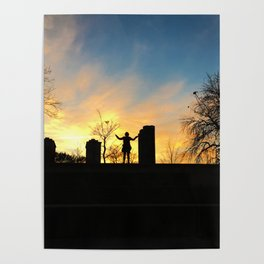 City Sunset Poster