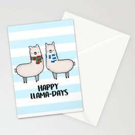 Happy Llama-Days Stationery Cards