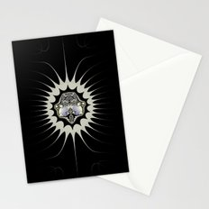 Golden Space Stationery Cards