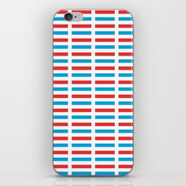flag of luxembourg- Luxembourgish,Lëtzebuerg,Luxemburg,Luxembourger, luxembourgeois iPhone Skin