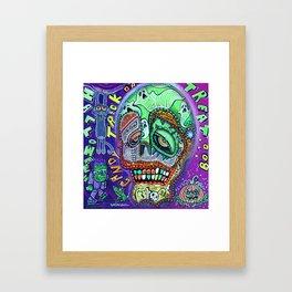 Treat or Trick Framed Art Print