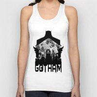 gotham Tank Tops featuring Gotham by Vitalitee
