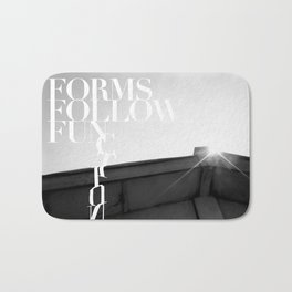 from follow fun Bath Mat