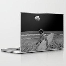 Moon surfer Laptop & iPad Skin