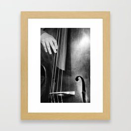 Jazz Bass Poster Framed Art Print
