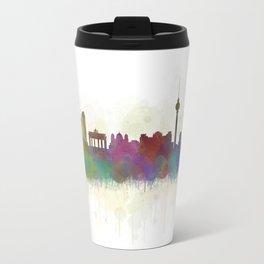 Berlin City Skyline HQ5 Travel Mug